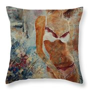Lingerie 57 Throw Pillow