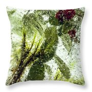 Lingonberry Throw Pillow