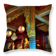 Lingyen Mountain Temple 1 Throw Pillow