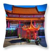 Lingyen Mountain Temple 11 Throw Pillow