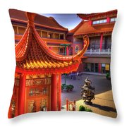Lingyen Mountain Temple 13 Throw Pillow