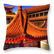 Lingyen Mountain Temple 16 Throw Pillow