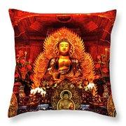 Lingyen Mountain Temple 4 Throw Pillow