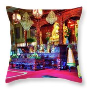 Lingyen Mountain Temple 5 Throw Pillow