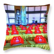 Lingyen Mountain Temple 6 Throw Pillow