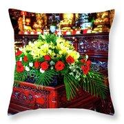 Lingyen Mountain Temple 7 Throw Pillow
