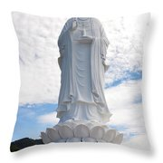 Linh Ung Temple Throw Pillow