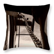Link To The Jib Throw Pillow