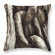 Links To Copper Harbor's Past Throw Pillow