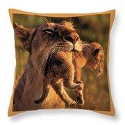 Lion 32 Throw Pillow