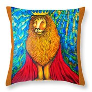 Lion-king Throw Pillow