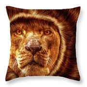 Lion Lady   -1 Throw Pillow
