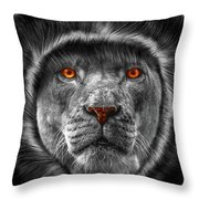 Lion Lady   -3 Throw Pillow