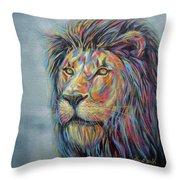 Lion No.3 Throw Pillow