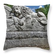 Lion Of Atlanta Throw Pillow