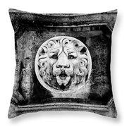 Lion Of Rome Throw Pillow