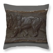 Lion Of The Colonne De Juillet Throw Pillow