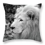Lion Oh My Throw Pillow