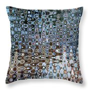 Lionfish Abstract Throw Pillow