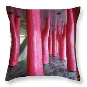Lipstick Forest 2 Throw Pillow