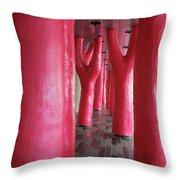Lipstick Forest 4 Throw Pillow