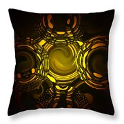 Liquid Aurora 1 Throw Pillow