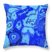 Liquid Blue Dream - V1cbs30 Throw Pillow