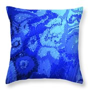 Liquid Blue Dream - V1lllt90 Throw Pillow