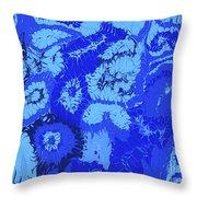 Liquid Blue Dream - V1sl100 Throw Pillow
