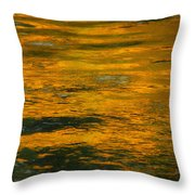 Liquid Fire Throw Pillow