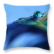 Liquid Fortune Throw Pillow