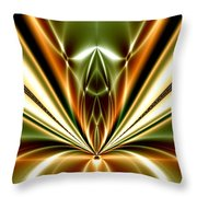 Liquid Reaction Throw Pillow