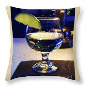 Liquid Sunshine Throw Pillow by Megan Cohen