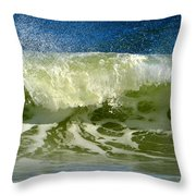 Liquid Thunder Throw Pillow