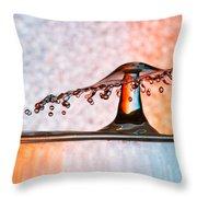 Liquid Umbrella Throw Pillow