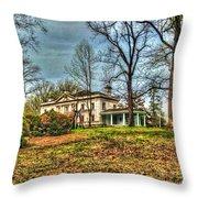 Liriodendron Mansion Throw Pillow