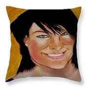 Lisa Hill  Supermum Throw Pillow