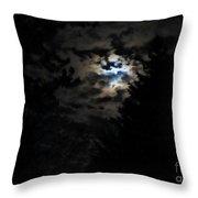 Lisas Wildlife Moons Throw Pillow