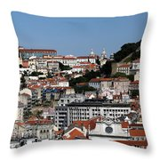 Lisbon 18 Throw Pillow