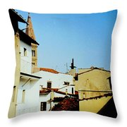 Lisbon Angles Throw Pillow