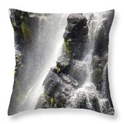 Lisbon Falls, South Africa. Throw Pillow