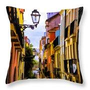 Lisbon Hills Throw Pillow