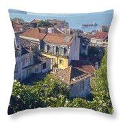 Lisbon Homes Throw Pillow