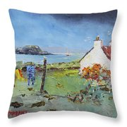 Lismore Island Throw Pillow