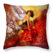 Lissa Buttons Throw Pillow