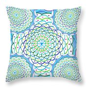 Listen And Take Action II Throw Pillow