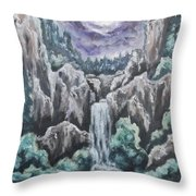 Listen To The Echoes II Throw Pillow