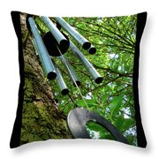 Listen To The Wind Throw Pillow
