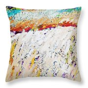 Listen To The Wind Speak Of Joy Throw Pillow