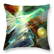 Lite Brought Forth By The Archkeeper Throw Pillow
